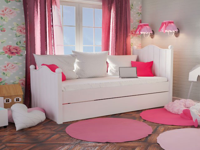 bdeec6097fe Παιδικό κρεβάτι ROSE - SALTAS Έπιπλο