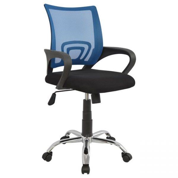 Καρέκλα Crystal Μπλε