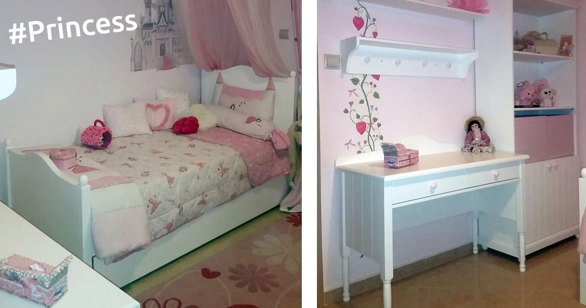 18b4aff0a1d Ένα παραμυθένιο, ρομαντικό παιδικό δωμάτιο - SALTAS Έπιπλο