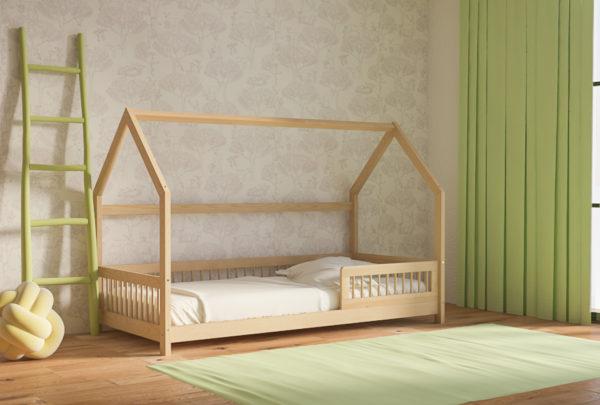 Παιδικό Κρεβάτι Μοντεσσόρι Genius Πεύκο