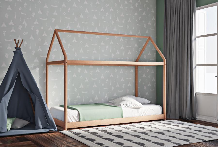 Κρεβάτι μοντεσσορι House Frame